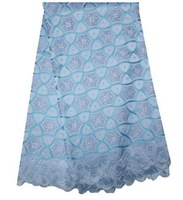 Wonderful African Swiss voile lace high quality ! Big heavy embroidery lace, 100% cotton, FREE SHIPPING! PL220-13