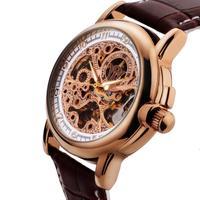 Top OYW 2014 new fashion luxury brand men military watch invicta mens mechanical hand wind relogio masculino man full steel