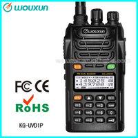 walkie talky  Wouxun KG-UVD1P 136-174/400-480MHz   higher 1700mAh Li-ion Battery