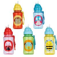 Hot sell Chokecherry Children Cartoon Animal Straw Cups baby Water Bottle Drinking Cup Leak Proof Sports Bottles