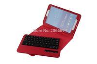 Lychee Pattern For Samsung Galaxy Tab 4 8.0 T330 Detachable Wireless Bluetooth Keyboard Leather Case