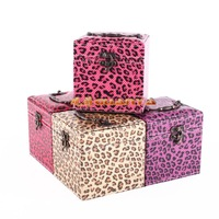 2014 Hot sale PU Leather jewelry storage case jewelry organizer display dressing box