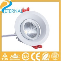 2014 new sharp cob led downlight dimmable ce&rohs approved  2pcs a lot with free shipping