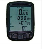 Larger screen Waterproof Bicycle Computer Odometer bike Speedometer cycling with LCD display backlite for dark+Free shipping!