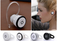 New In-Ear Stereo Wireless Bluetooth Earphone Smallest Mini Headset Headphone For iPhone4/4s iPhone5 Samsung