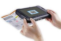 1D/2D barcode scanner tablet with fingerprint,wifi,3g