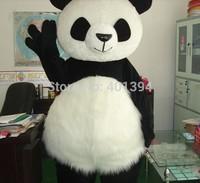 New Version Chinese Giant Panda Mascot Costume Christmas cosplay Mascot Costume Free Shipping