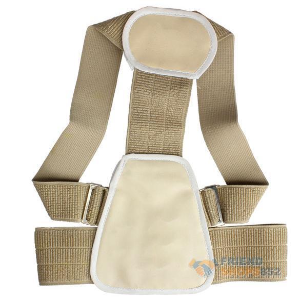 Shoulder Support Belt Back Posture Brace Corrector Flexible Posture Back Belt Correct Rectify NIE#(China (Mainland))