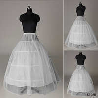 In Stock Hot Sale 2014 3 Hoop 2 Layer Real Sample Wedding Accessories Petticoats for Wedding Dresses Ball Gown