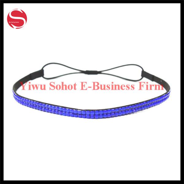 Rhinestone Crystal Headband Elastic Stretch Hair Band Hair Accessory New Product(China (Mainland))