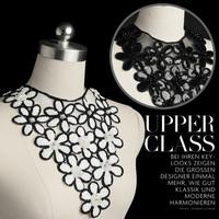 3pc 30x33cm Sequin Beaded Neckline Collar Applique Pearl Rhinestone Lace Motif Applique Guipure Patches Sewing Supplies AC0283