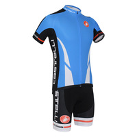 C for ast elli 2014 blue ride clothing set male summer ride service