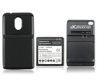 New Arrival 3500mAh Extended Rechargeable Battery +Charger + Back Case for Samsung Galaxy S II,Epic Touch 4G,D710