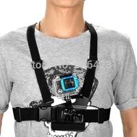Elastic Chest + Adjustable Head Strap Belt Mount For GOPRO Hero 1 2 3 3+ Camera