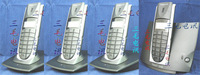 If digital cordless caller id cordless phone yituo four