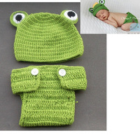 Free shipping newborn baby children boys girls child photography props Crochet Handmade wool modeling t 0-8M