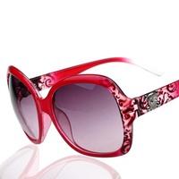 Free shipping skull sunglasses fashion sunglasses large frame women sunglasses