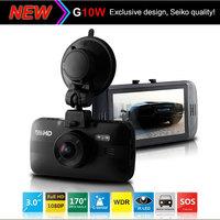 "NEW Arrival Car DVR Camera G10W Novatek 96650 Full HD 1080P 2.7"" LCD+IR Night Vision+G-Sensor+H.264 Video Recorder Dash Cam"