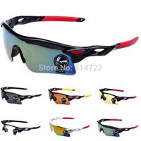 1pcs 2014 New Men Cycling Bicycle Bike Sports Fishing Driving Sunglasses Glasses Wholesale
