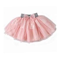 2014 New High Quality Girl Ball Gown Skirt/Princess Children Clothing/Sweet Bowtie Girl Skirt