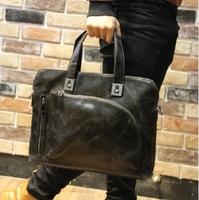 Hot Sale Fashion high quality PU leather shoulder bags men's briefcase male Handbag totes laptop bag for men
