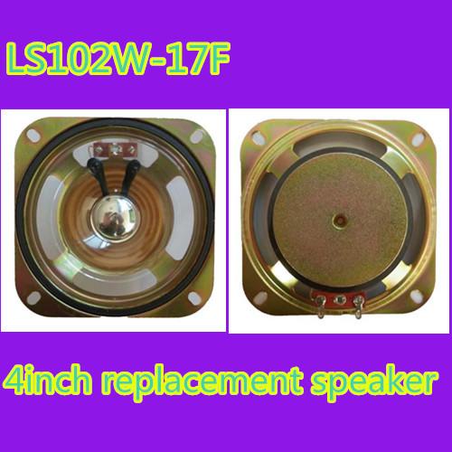 LS102W-17F powered 10w 8ohm 4inch waterproof machine speaker(China (Mainland))