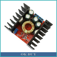 DC-DC Adjustable Voltage Buck Converter 7-32V to 0.8-28V 10A 100W High   Power Low Ripple Step-down Power Supply Module