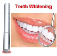 Free Shipping Popular White Teeth Whitening Pen Tooth Gel Whitener Bleach Remove Stains