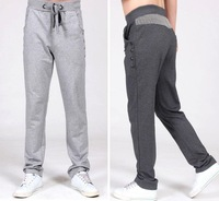 2014 New Free Shipping Spring Autumn Men's Brand Big Mens Design Loose Sport Pants Plus Size 5XL Pants Fashion Sweatpants