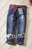 Free shipping - jeans Girls' jeans Children's pants Children's wear jeans