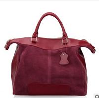 2014 new European and American casual leather handbags Mobile Messenger bag handbags summer 0270  37*31*20cm NBC103 Y8PB