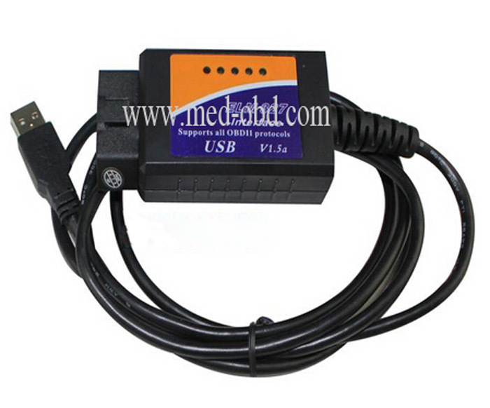 The New Car Diagnostic Interface Scan Tool ELM 327 USB(China (Mainland))