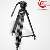 Free Shipping DIAT A193ks10 2014 Professional Flexible Camera Tripod Video Tripod Triangle Tripo With Hydraulic head