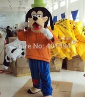 Brand New Goofy Dog Mascot costume Fancy Dress Adult size Cosplay + Halloween Free Shipping!