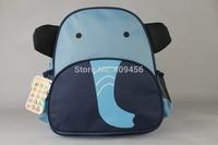 lowest price! Hot children zoo backpack cute kids cartoon animal school bag kindergarten satchels mochila pack bolsas 60pcs/lot