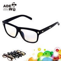 New Stylish All Matching Black Eye Glasses Women Acetate Eyeglass Men Goggles gafas oculos masculino Free Shipping