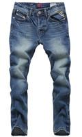 Free Shipping 2014 men's fashion jeans man clothes new famous brand Men's pants size 28-40