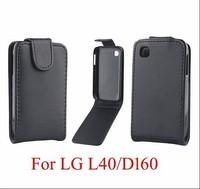 Flip Vertical Leather Case Protecive Case For LG L40 D160 D170 Free Shipping
