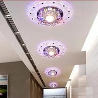 3W LED crystal lighting led lights for living room hallway bedroom light led chandelier modern LED Lamps AC200-240V
