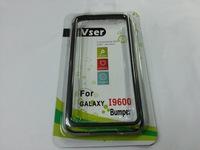 100pcs/lot Hybrid TPU Bumper Frame Case for Samsung Galaxy S5 i9600