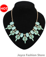 Min Order $10,New 2014 Vintage Fashion Statement Necklaces for Women,Exaggerated flowers necklaces,N83