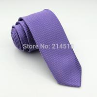dark purple Man's Ties Neckties Men's Slim Tie Neck Cloth Adult Cravat Fashion Ties 1PCS/LOT