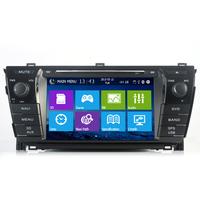 FOR TOYOTA Corolla2014  8 inch  CAR DVD Player GPS Navigation Navi iPod Bluetooth Rear Camera HD Touchscreen Radio  Free Map