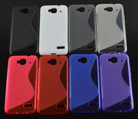 10pcs New S line Soft TPU Case Skin Cover For Alcatel one touch Idol Mini 6012 6012A 6012X 6012W phone case