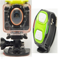 100pcs wifi camera Watch Control Waterproof Mini Camcorder Sports DV W06 Car Dvr with 1080P Full hd wifi dv with 178 Degree mini