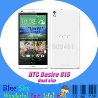 quad core android phone HTC Desire 816 816W dual sim cellphone original unlocked 1.5G RAM 8G Internal 13mp camera free shipping
