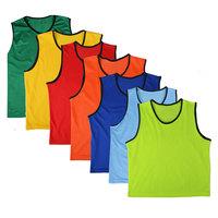 Child adult football mesh against vest mesh breathable training vest skiing training