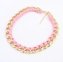 4 Color 2014 New Gift Cheap Fashion Women God Chain Charm Necklaces Pendants Men Jewelry Wholesale