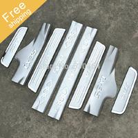 Free Shipping!Hyundai ix35 2010-2014 stainless steel scuff plate door sill 4pcs/set car accessories 2011 2012 2013