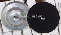 """100mm/4"""" aluminum rubber flexible backer pads"""